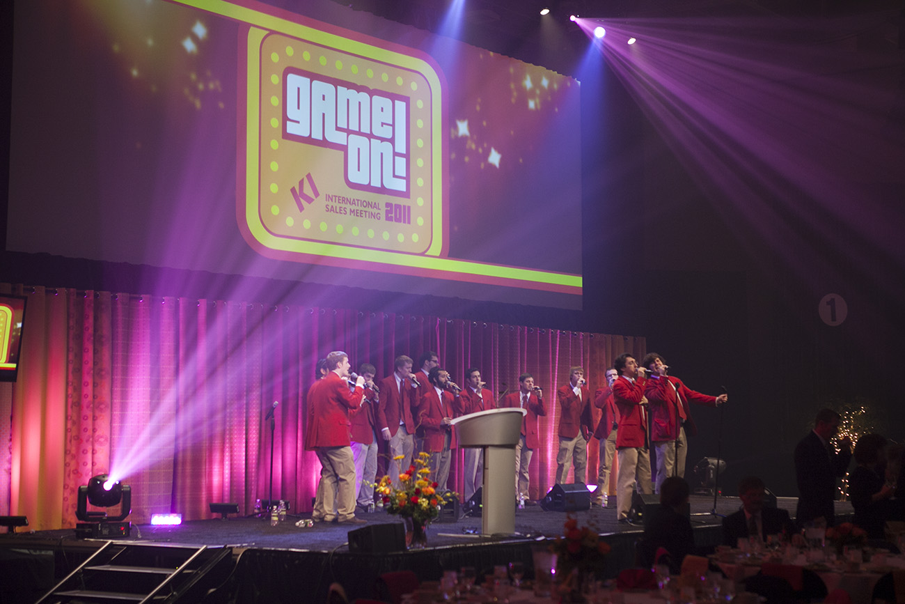 International Sales Meeting 2011   Game On, KI
