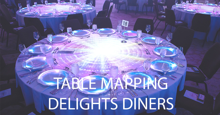 table projection mapping case study